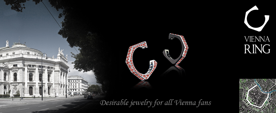 VIENNA RING by NIKL |  Desirable jewelry and the premium - souvenir for all Vienna-Fans
