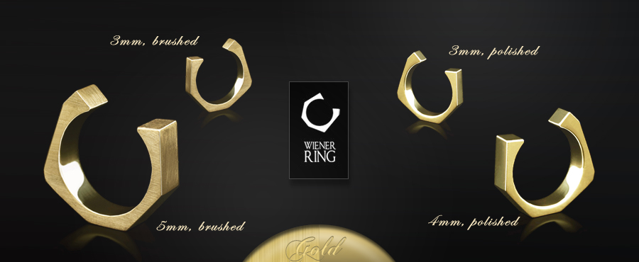 WIENER RING by NIKL | KOLLEKTION CLASSIC in GELBGOLD